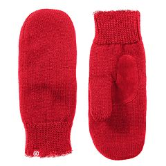 Women's isotoner Solid Knit Mittens