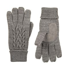 Women's isotoner Cable-Knit Gloves