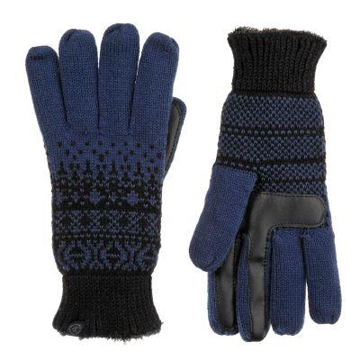 Women's isotoner smartDRI Fairisle Knit Tech Gloves