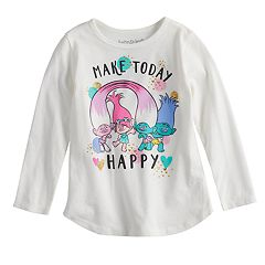 Toddler Girl Jumping Beans® Dreamworks Trolls 'Make Today Happy' Graphic Tee