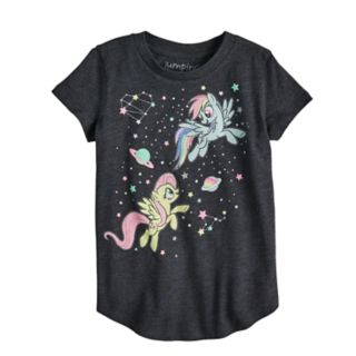 Toddler Girl Jumping Beans® My Little Pony Rainbow Dash & Fluttershy Graphic Short-Sleeve Tee