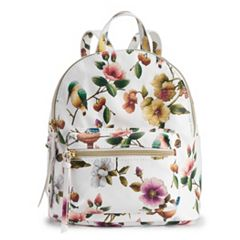 T-Shirt & Jeans Floral & Bird Mini Backpack