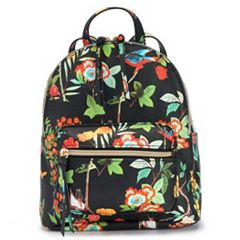 T-Shirt & Jeans Floral Mini Backpack