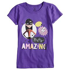Disney / Pixar The Incredibles 2 'Pretty Amazing' Girls 7-16 Graphic Tee