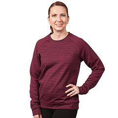 Women's Huntworth Jacquard Diamond & French Terry Sweatshirt