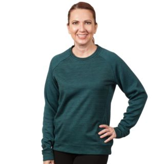 Women's Huntworth Jacquard Diamond & French Terry Sweatshirt