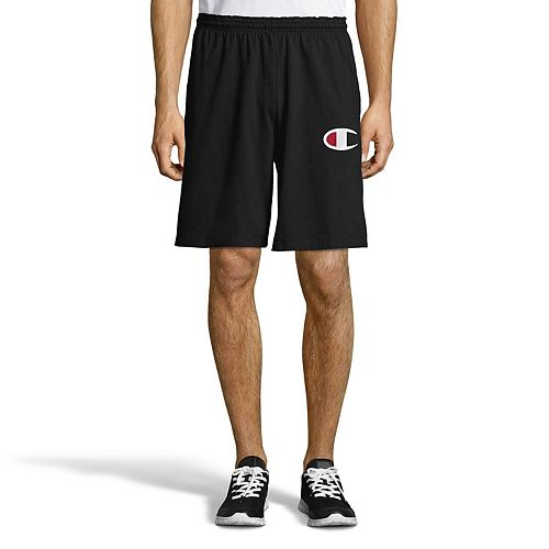 Men's Champion Graphic Jersey Shorts