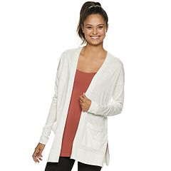 Juniors  SO® Solid Side Slit Cardigan 26c5e37e6