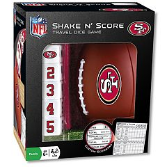 San Francisco 49ers Shake 'n' Score Travel Dice Game