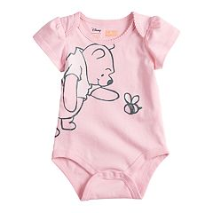 Disney's Winnie The Pooh Baby Girl Bodysuit by Jumping Beans®