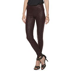 Women's Rock & Republic® Coated Crackle Leggings