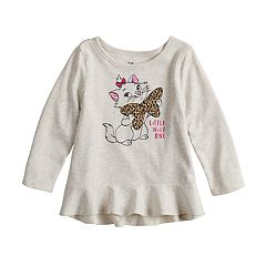 Disney's Aristocats Marie 'Little Wild One' Baby Girl Peplum Tee by Jumping Beans®