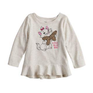 "Disney's Aristocats Marie ""Little Wild One"" Baby Girl Peplum Tee by Jumping Beans®"
