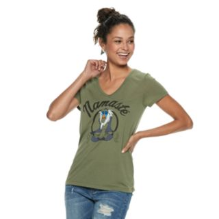 "Juniors' Lion King ""Namaste"" Tee"