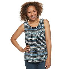Petite Croft & Barrow® Pleated Swing Tank