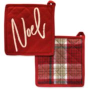 Xmas Noel Pot Holder Set