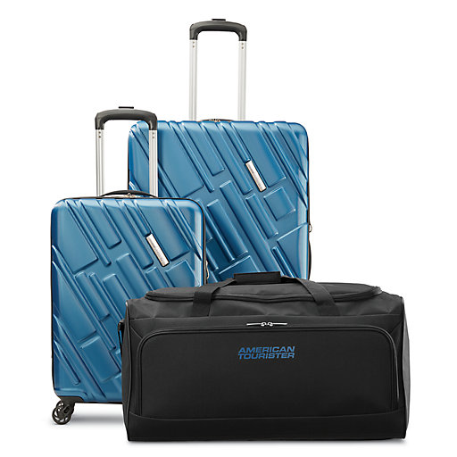 f59a7118eb8c1 American Tourister Ellipse 3-Piece Hardside Spinner Luggage Set