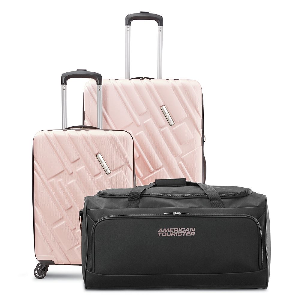 American Tourister Ellipse 3-Piece Hardside Spinner Luggage Set