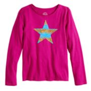 Girls 7-16 & Plus Size SO® Flip Sequin Graphic Tee