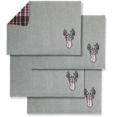 Elk Reversible Placemat 4-pk