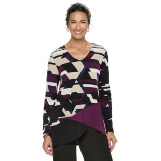 Women's Dana Buchman Travel Anywhere Asymmetrical Tunic
