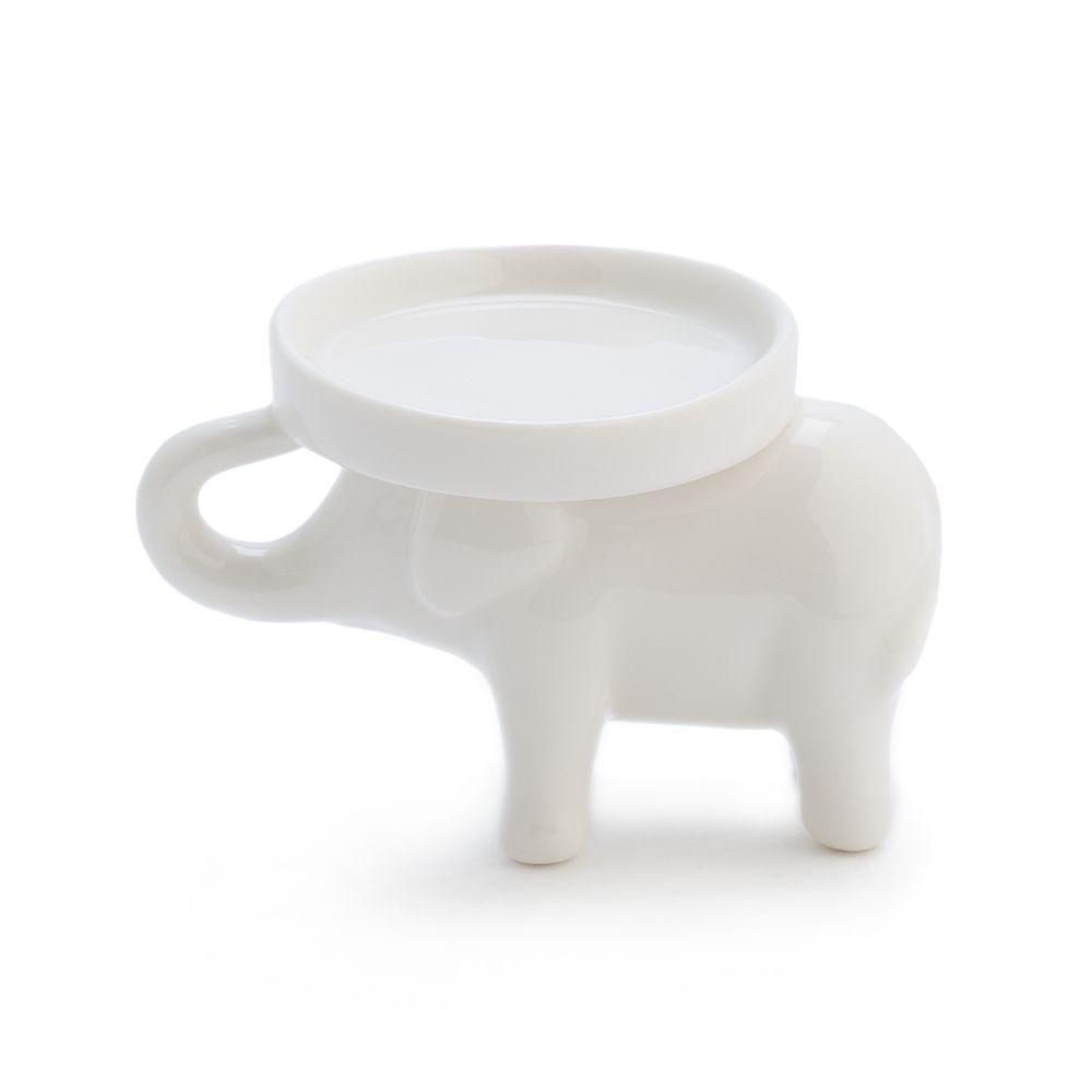 LC Lauren Conrad Elephant Ceramic Trinket Stand Tray