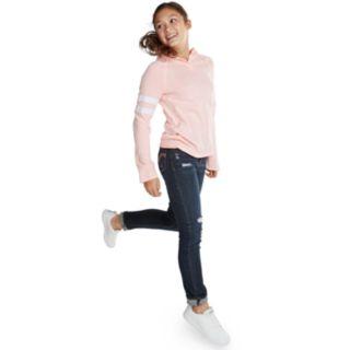 Girls 7-16 & Plus Size SO® Cozy Henley Tunic