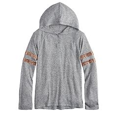 Girls 7-16 & Plus Size SO® Tunic Hoodie