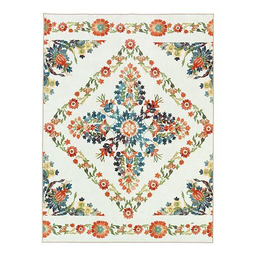 Mohawk® Home Aurora Bishop Tile Printed Rug