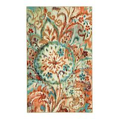 Mohawk® Home Aurora Bohemian Paisley Printed Rug