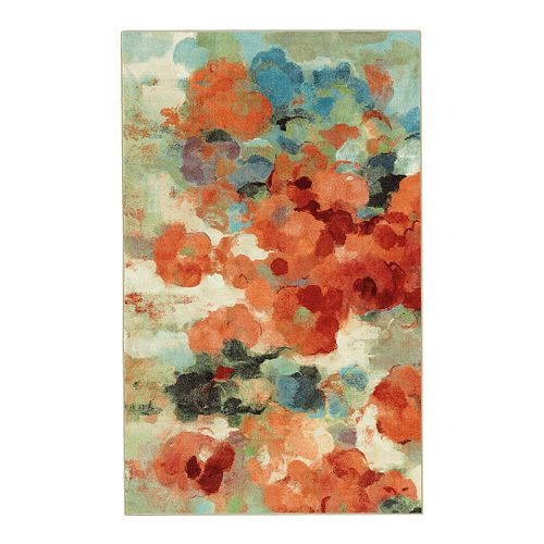 Mohawk® Home Aurora Colorful Garden Printed Rug