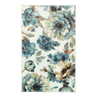 Mohawk® Home Aurora Indigold Floral Printed Rug