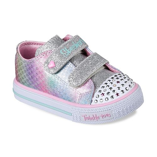 Skechers Twinkle Toes Shuffles Ms. Mermaid Toddler Girls
