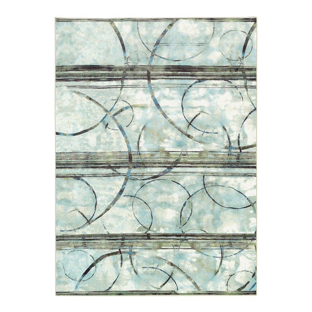 Mohawk® Home Aurora Seafoam Panoramic Printed Rug