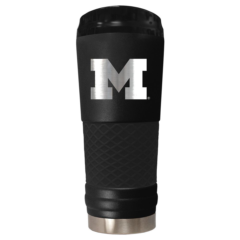 Michigan Wolverines 24-Ounce Stealth Travel Tumbler