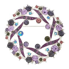 Napier Wreath Pin