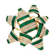 Napier Gift Bow Pin
