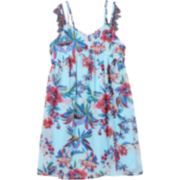 Girls 7-16 Speechless Floral Print Tank Dress