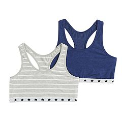 Girls 7-16 SO® 2-pack Racerback Bras