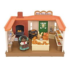 Calico Critters Heloise Pickleweeds Hedgehog Brick Oven Bakery Set