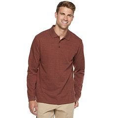 Men's Haggar Classic-Fit Soft Touch Jacquard Polo