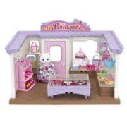 Calico Critters Cecilia Persian Cat Boutique Playset