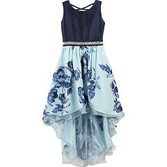 Girls 7-16 Speechless Floral Print High Low Dress