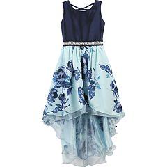 Girls 7-16 Speechless Floral Print High Low Dress