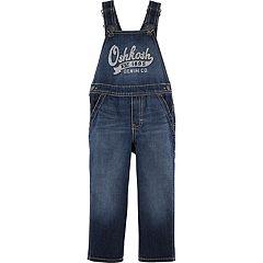 Baby Boy OshKosh B'gosh® 'Oshkosh' Dark Denim Overalls
