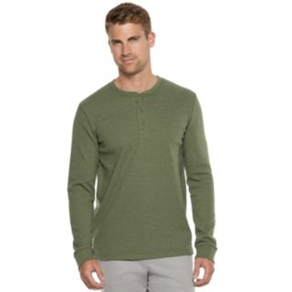 Men's SONOMA Goods for Life? Supersoft Thermal Henley