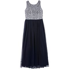 Girls 7-16 Speechless Sleeveless Rhinestone Trim Dress