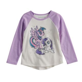 Toddler Girl Jumping Beans® My Little Pony Twilight Sparkle & Rarity Graphic Long-Sleeve Tee