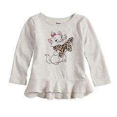 Disney's Aristocats Marie Toddler Girl Peplum-Hem Tee by Jumping Beans®