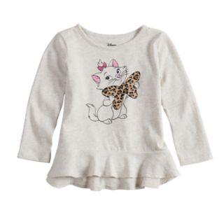 Disney's Aristocats Marie Toddler Girl Peplum-Hem Tee by Jumping Beans®